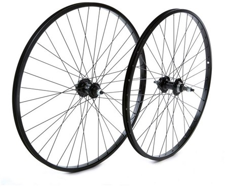"Tru-Build 26"" MTB Rear Disc Wheel Alloy Rim 6 Bolt Disc Hub Freewheel Fitting and Nutted Axle"