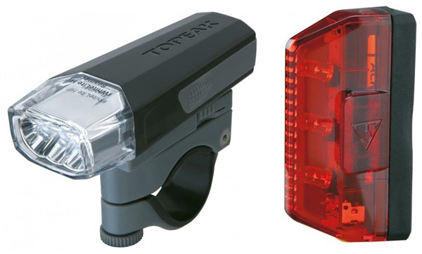 Topeak Aero Combo Light Set | Lygtesæt