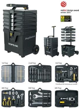 Topeak PrepStation Tool Kit - Case With Tools