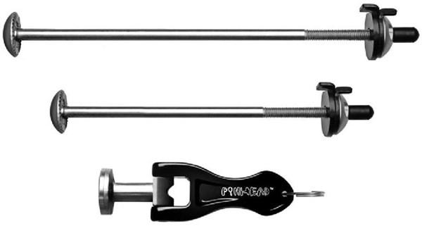 Pinhead Twin Pack - Locking Wheel Skewers - QR