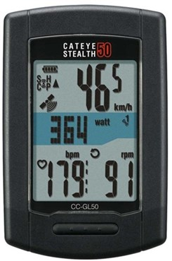 Cateye Stealth 50 GPS Computer Bundle