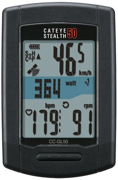 Cateye Stealth 50 GPS Computer