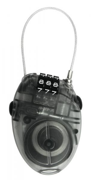 System EX Cafe Race Combination Cable Lock | Combo Lock