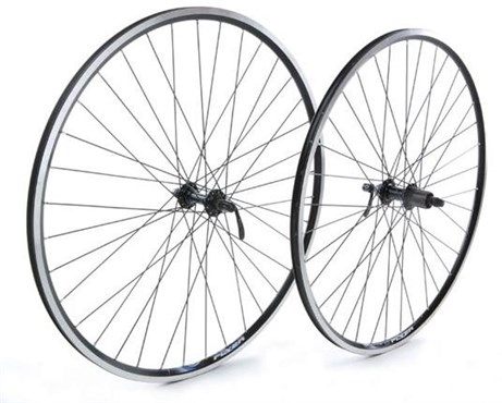 Tru-Build 700c Front Wheel Alloy Hub Mach1 CFX Rim 36H QR