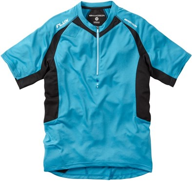 Madison Flux Mens Short Sleeve Cycling Jersey