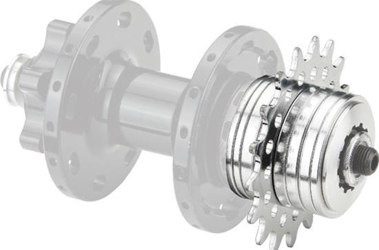 RSP Single Speed Converter | Frikranse og tandhjul