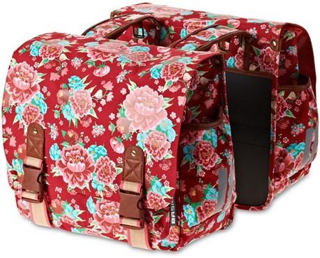 Basil Bloom Double Pannier Bags