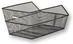 Basil Cento Rear Bag Steel Mesh Basket Fixed Mounting