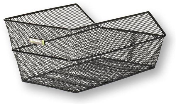 Basil Cento Rear Bag Steel Mesh Basket Fixed Mounting
