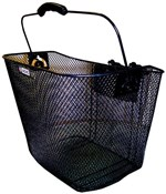 Product image for Adie Mesh Basket With Snap Fit Quick Release Fixing Bracket
