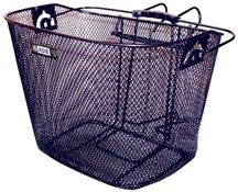 Adie Mesh Basket With Metal Bracket