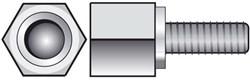 Adie Axle Extension Bolt (Pair)