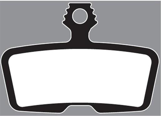 Aztec Organic Disc Brake Pads For Avid Code 2011