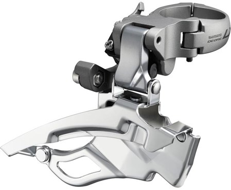 Shimano FD-T671 LX Front Derailleur Down Swing Dual Pull Multi Fit