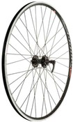 Tru-Build 700c Cyclocross Disc Front Wheel Mach1 Omega Rim 6Bolt QR Disc Hub