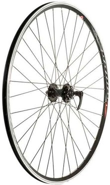Tru-Build 700c Cyclocross Disc Front Wheel Mach1 Omega Rim 6Bolt QR Hub