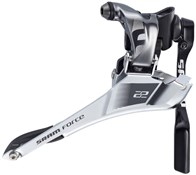 Product image for SRAM Force22 Front Derailleur Yaw Braze On With Chain Spotter