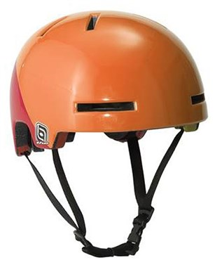 THE Industries Postal Stamp Bucket Skate/BMX Helmet