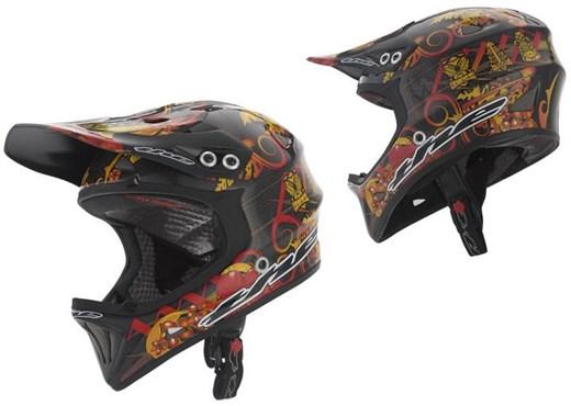 THE Industries T2 Full Face Carbon Helmet