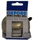 Oxford Ding Dong Chrome Cycle Bell