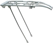 Product image for Oxford 24/26/27 inch Spring Top Alloy Luggage Carrier Rear Bike Rack