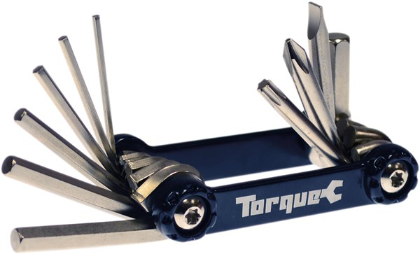 Torque Compact 10 Aluminium Folding Cycle Multi Tool