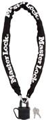 Master Lock Street Flexium Chain With 40mm Weather Tough Padlock