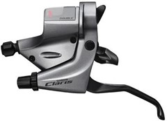 Product image for Shimano ST-R240 Claris 8 Speed Road Flat Bar Levers