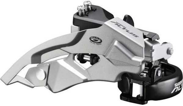 Shimano FD-M370 Altus 9 Speed Front Derailleur Top Swing Dual Pull