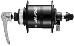 Product image for Shimano DH-S701 Alfine 6v 1.5w Q/R Dynamo Front Centre-Lock Disc Hub