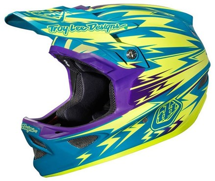 Troy Lee D3 Composite Full Face Down Hill MTB Cycling Helmet