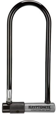 Kryptonite Series 2 Long Shackle U Lock With Flexframe Bracket - Silver Sold Secure