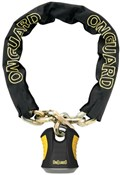 Product image for OnGuard Beast Chain Lock with Padlock