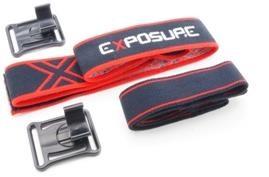 Exposure Verso Headband Set - Headband / Torch & Support Cell Bracket with Overhead Strap