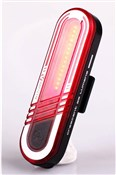 Product image for Moon Crescent USB Rechargeable Rear Light