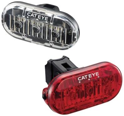 Cateye OMNI 3 Front / Rear Light Set