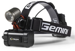 Gemini Xera LED 950 Lumen Light System 2-Cell Rechargeable Front Light