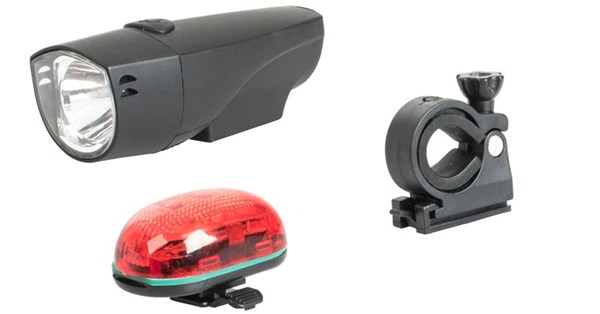 Raleigh RX7.0S 1 Led Front & 5 Led Rear Light Set