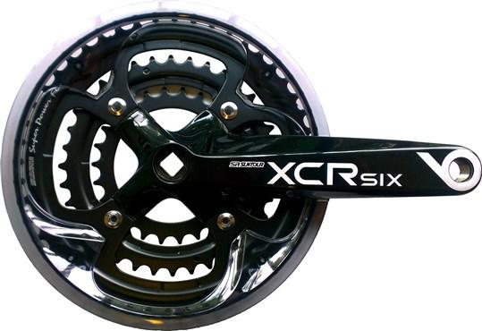 SR Suntour CW-XCR6-T418 Trekking Chainset