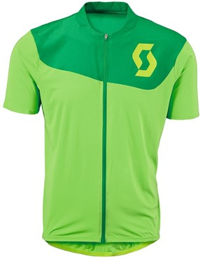 Scott AMT B Full Zip Short Sleeve Cycling Jersey