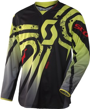 Scott 350 Tactic Long Sleeve Cycling Jersey