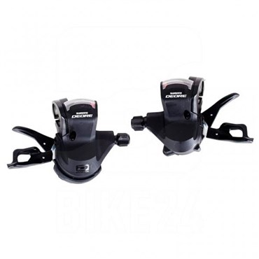 Shimano Deore 10-speed Rapidfire Pods MTB Lever Shifters SLM610 - Pair
