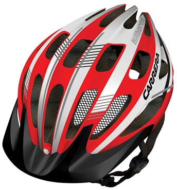 Carrera E0453 Hillborne 2 MTB Helmet with Rear Light 2014