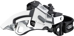 Shimano FD-M610 Deore 10 Speed Triple Front Derailleur, Top Swing, Dual-Pull