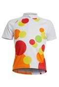 Polaris Spot Girls Short Sleeve Cycling Jersey SS17