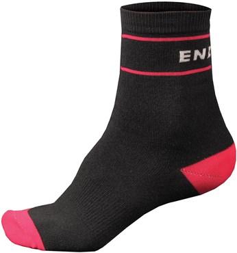 Endura Retro Womens Cycling Socks - Twin Pack