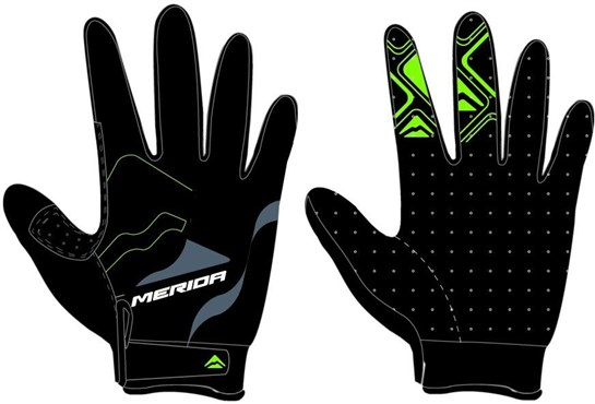 Merida Long Finger Gel Cycling Gloves
