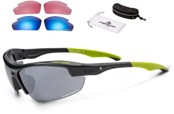 Merida Road Sunglasses - 3 Lenses