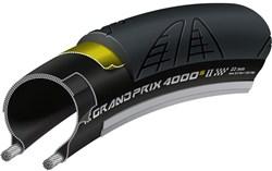 Continental Grand Prix 4000 S II Black Chili Folding Road Tyre