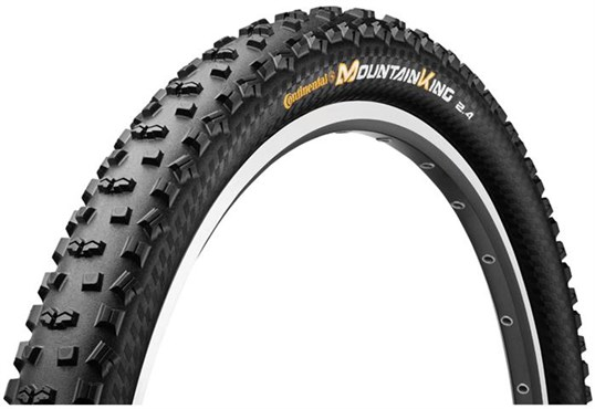 Continental Mountain King II ProTection 26 inch Black Chili MTB Folding Tyre | Tyres